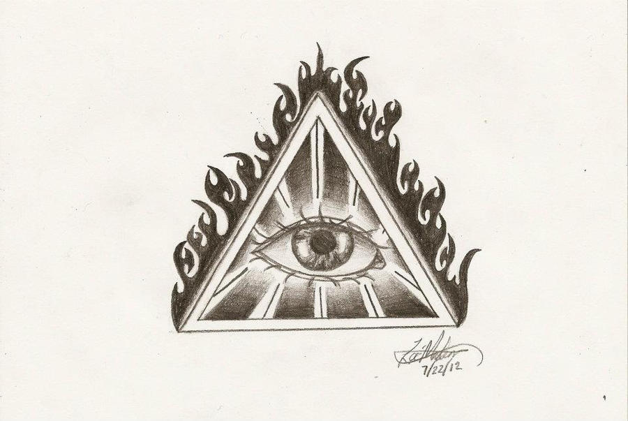 Eye of providence all seeing eye by iirawrdinosaurii