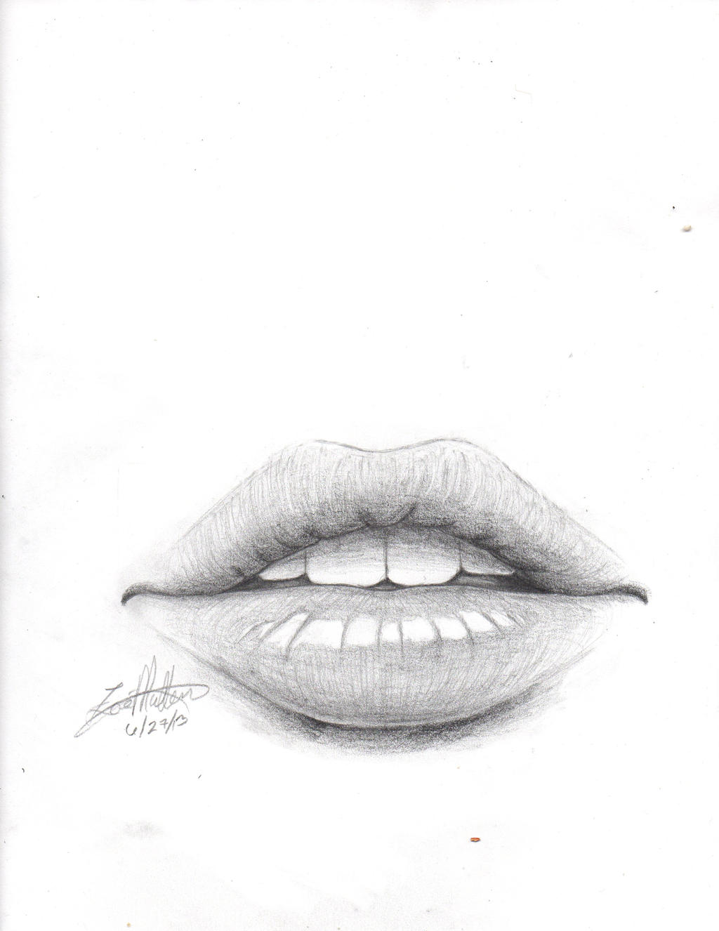 Lips by iiRawrDinosaurii