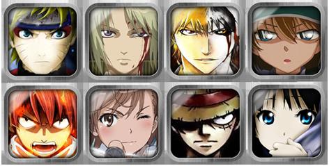 anime icons by xHirokix