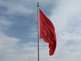 red_Flag_on_Tiananmen Square_ by pebbleshin