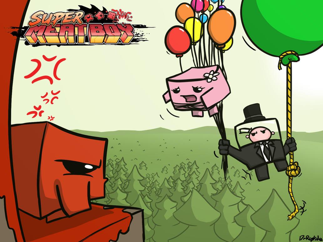 Super Meat Boy wallpaper by DrRiptide