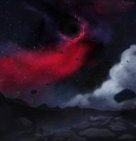 Fingers Through A Starry Sky