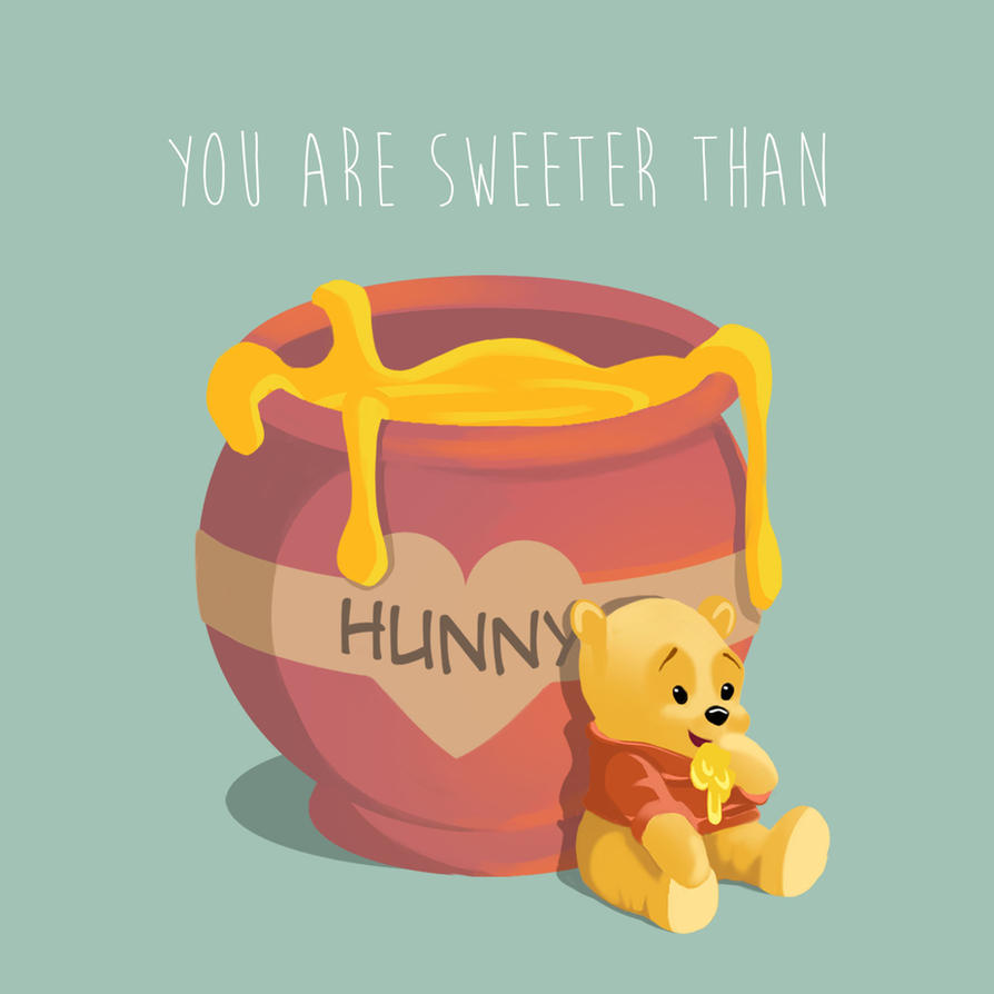 Sweeter Than Honey - Valentine's Day Art Exchange by art-a-lotl