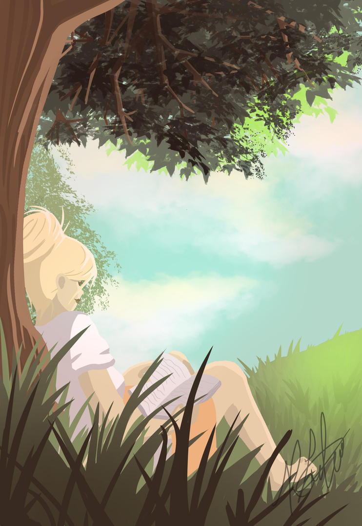 Quiet Time by rochellejoy