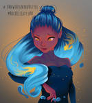 Draw This In Your Style Challenge : DestinyBlue by Roelette