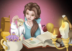Story Time With Belle by Roelette
