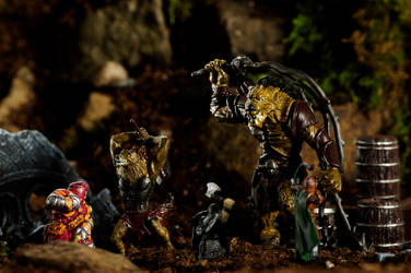 Combat of the Gnolls