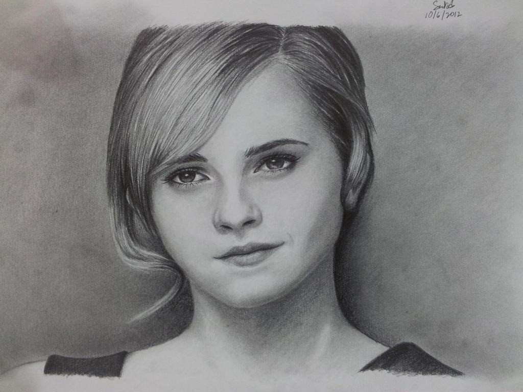 Emma Watson by solidx86