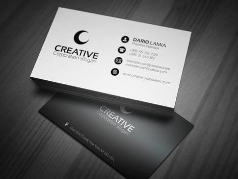 Modul 002: Creative (Corporate Business Card)