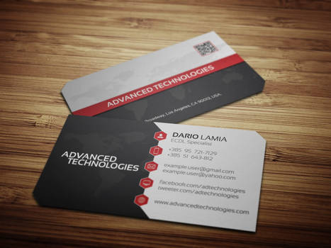 Modul 003: Advanced Technologies (Business Card)