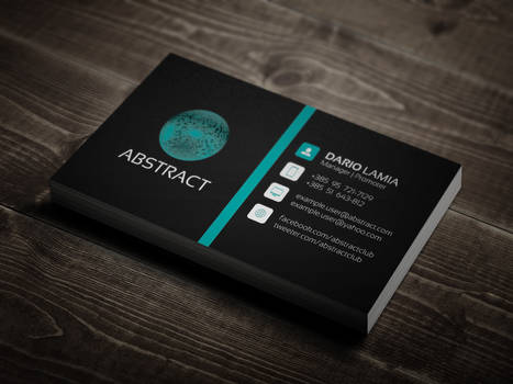 Modul 005: Abstract (Corporate Business Card)