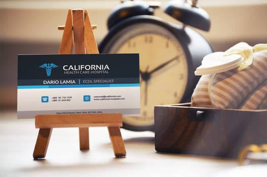 Modul 006: California (Corporate Business Card)