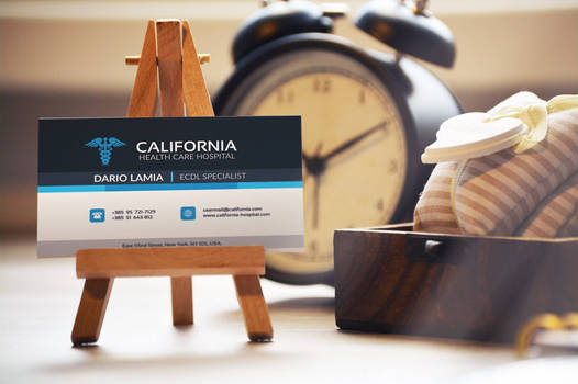 Modul 006: California (Corporate Business Card)