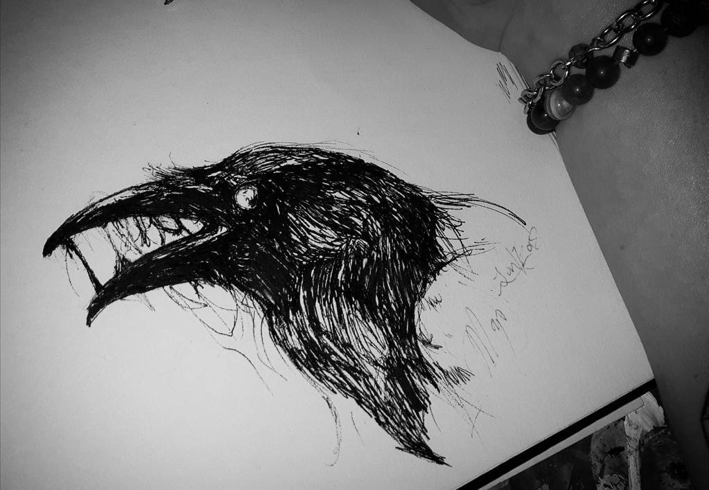 Toxic Raven Tattoo By Magan1996 On Deviantart