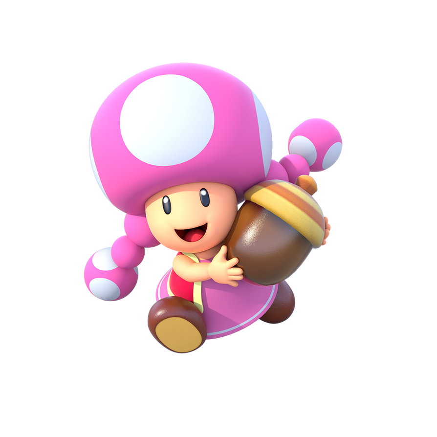 Artwork of Toadette for Mario Party: Star Rush by ...