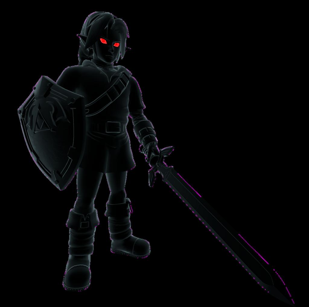 Ocarina of Time Dark Link Render by kamtheman56 on DeviantArt