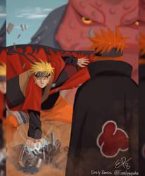 Naruto Vs. Pain