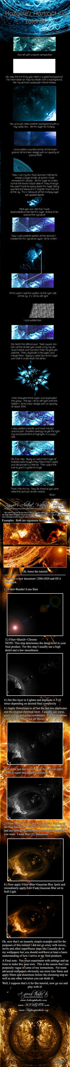 Abstract Signature Tutorial by Kazyole