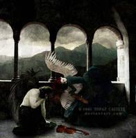 Fallen by topazcatseye
