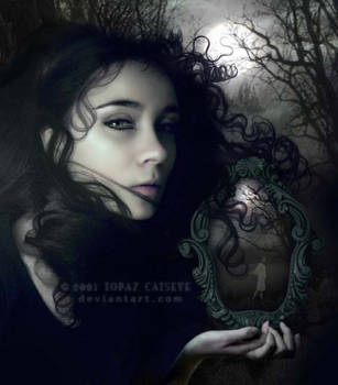 Through a Glass Darkly by topazcatseye