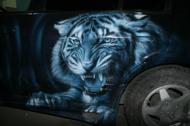 tiger blue by hotabych