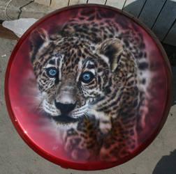 leopard cub by hotabych