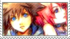 Sora and Kairi Stamp 5 by Addicted-Squared