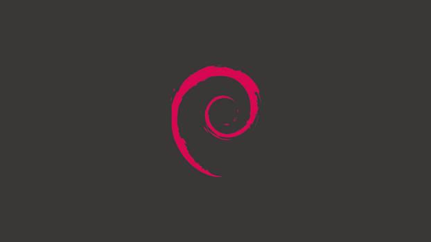 Minimal Debian wallpaper