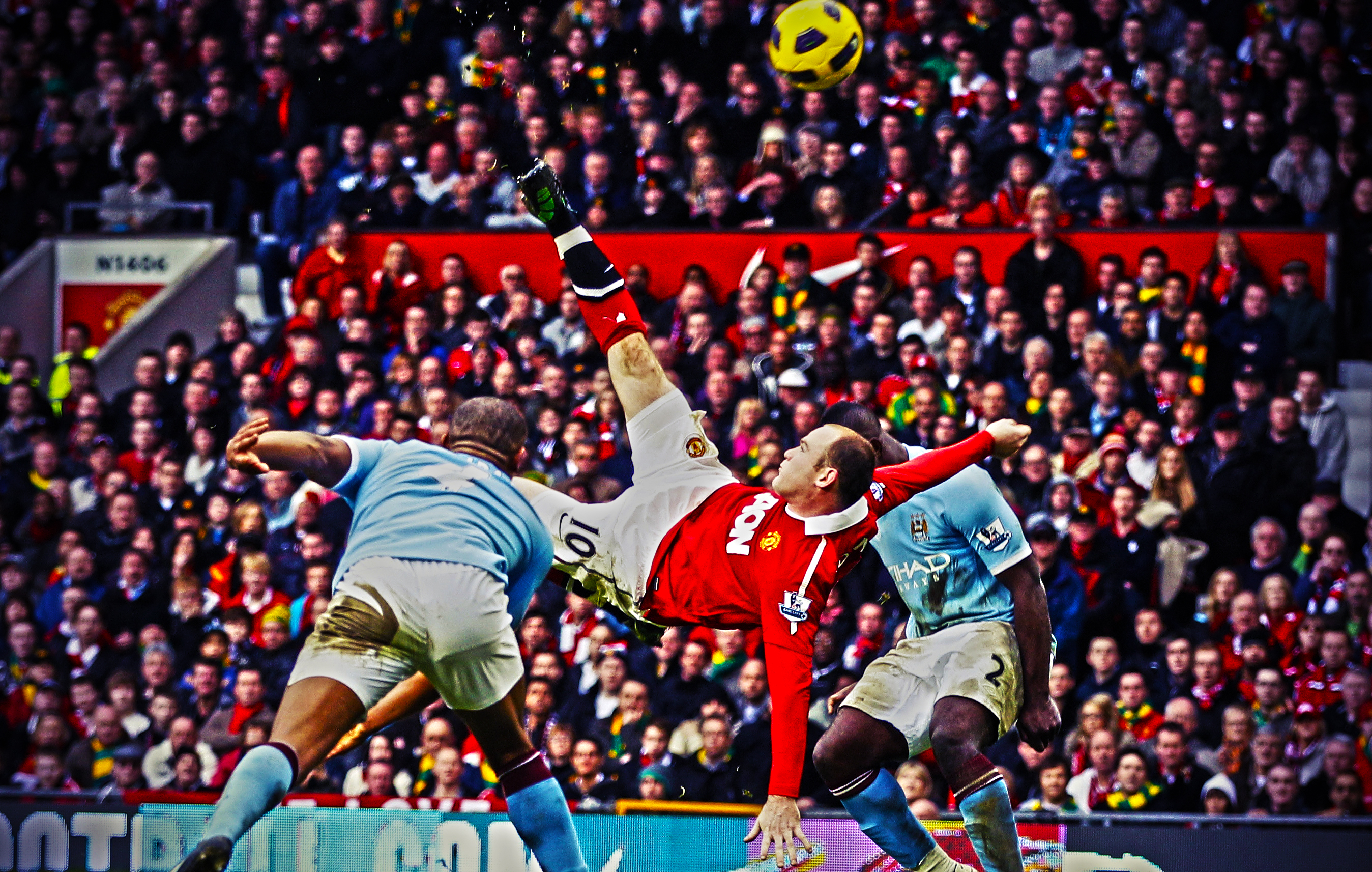 Wayne Rooney Goal Vs Man City Wallpaper | GlobezHair