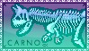 Stamp - Carno Bones by Moth-Doll