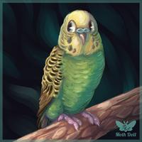 Lil Green Bean by Moth-Doll