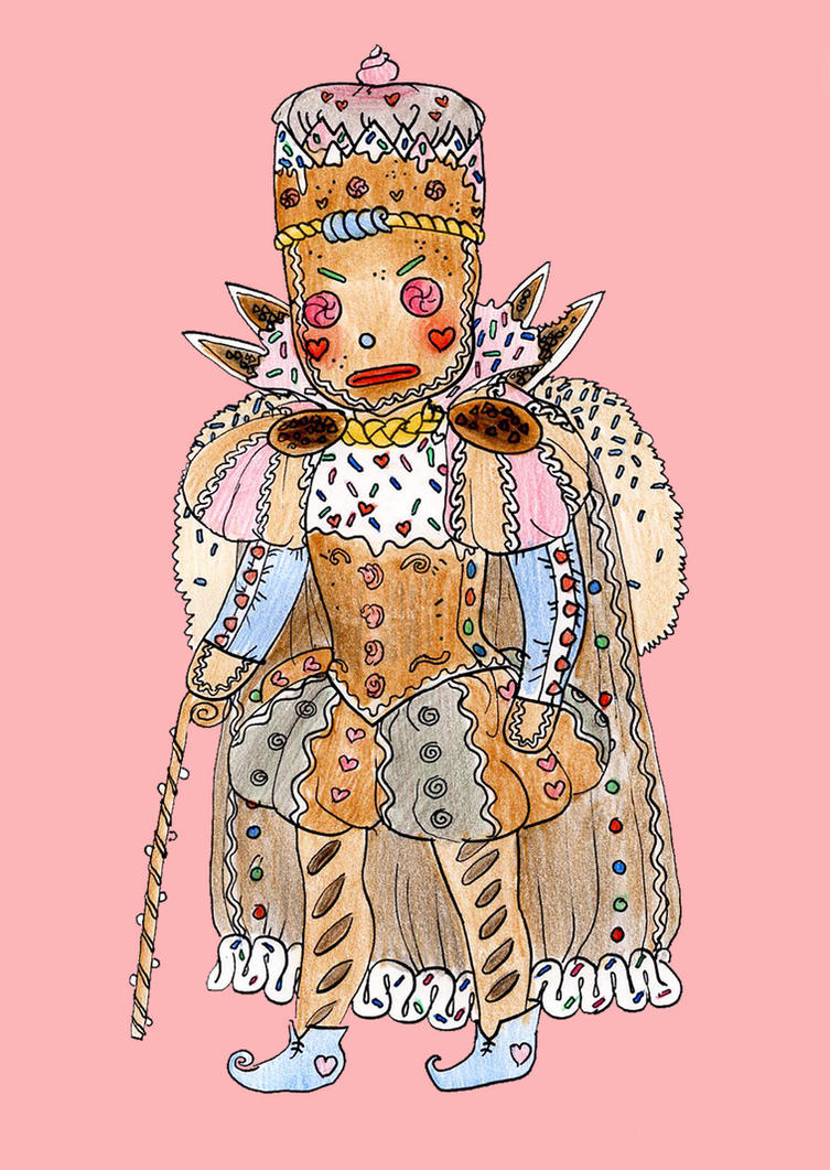 Gingerbread King by jimmyoOO