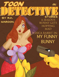Jessica Rabbit Pulp Cover by Crows