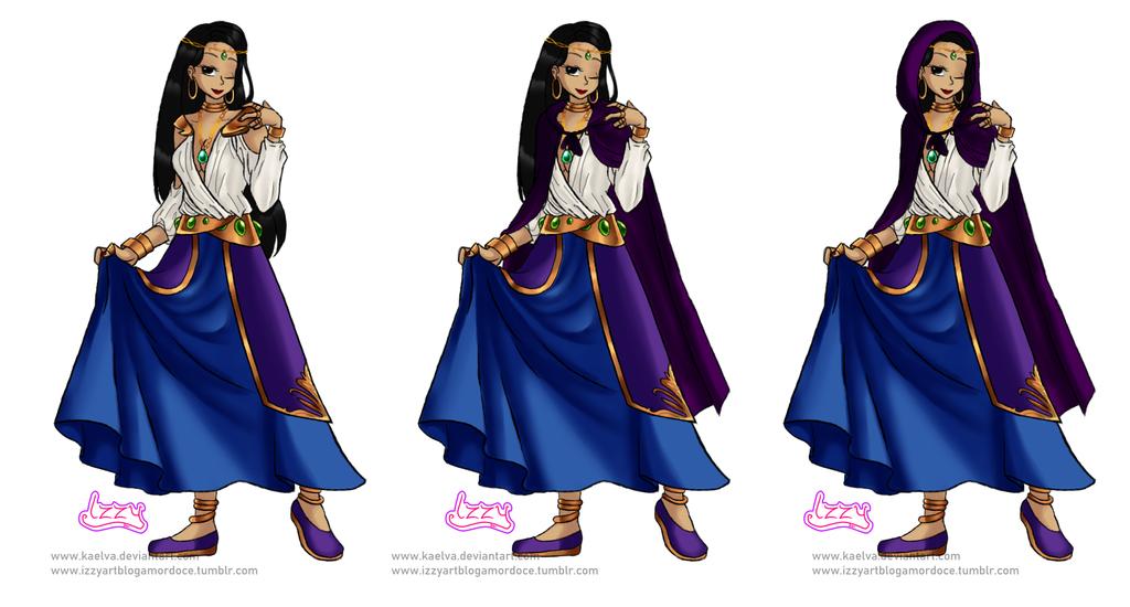 OC Design Commission - Maria the Arcana by Kaelva