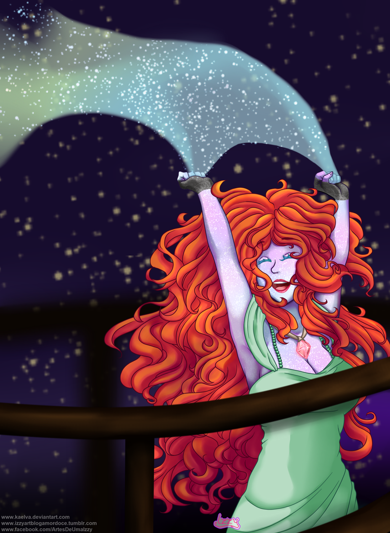 CM - I'm one with the stars by Kaelva