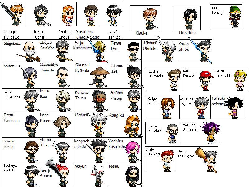 Bleach Captain Names List of Bleach charact...