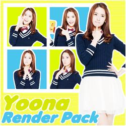 Yoona | Pack Render 1 by TiffanyStevens