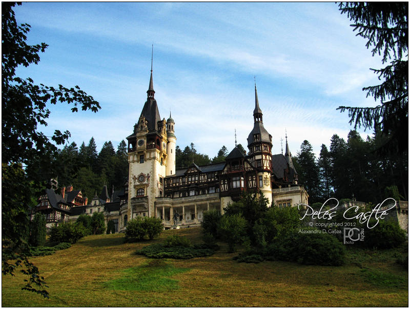 Peles Castle by AlexandruGatea