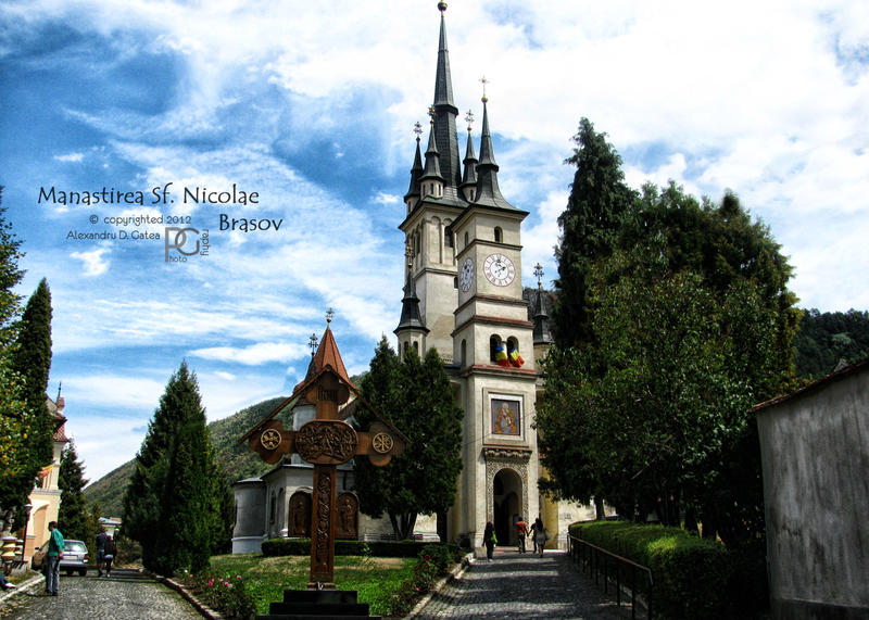 St Nicholas Church, Brasov by AlexandruGatea