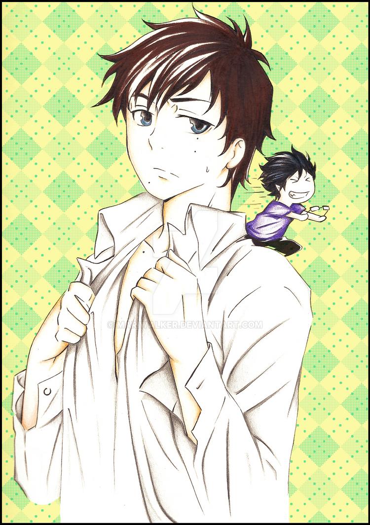Yukio and Rin by MariWalker