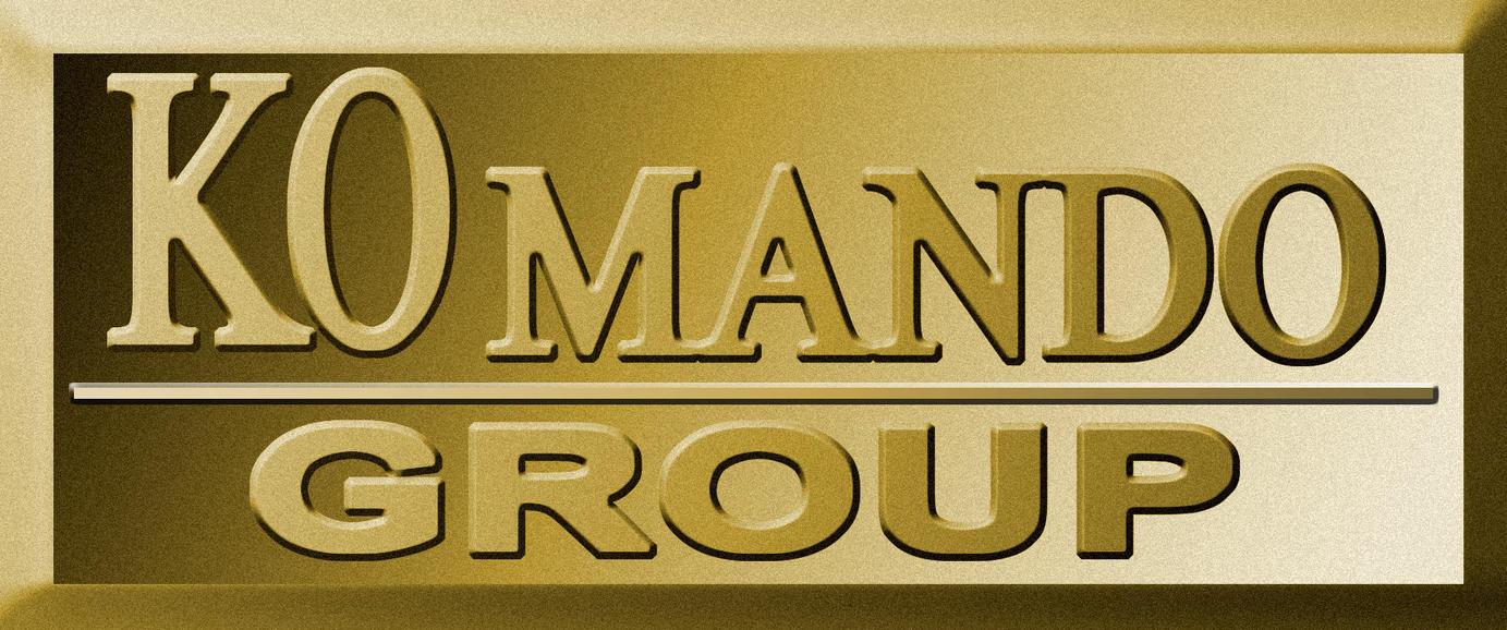 Logo Komando Group by kecotz