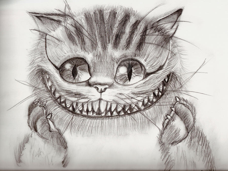 Cheshire Cat by thedarkenedkeeper
