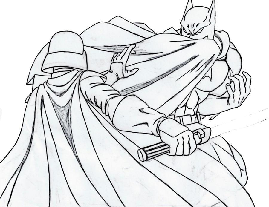 Batman vs Darth Vader sketch by scorpmanx on DeviantArt