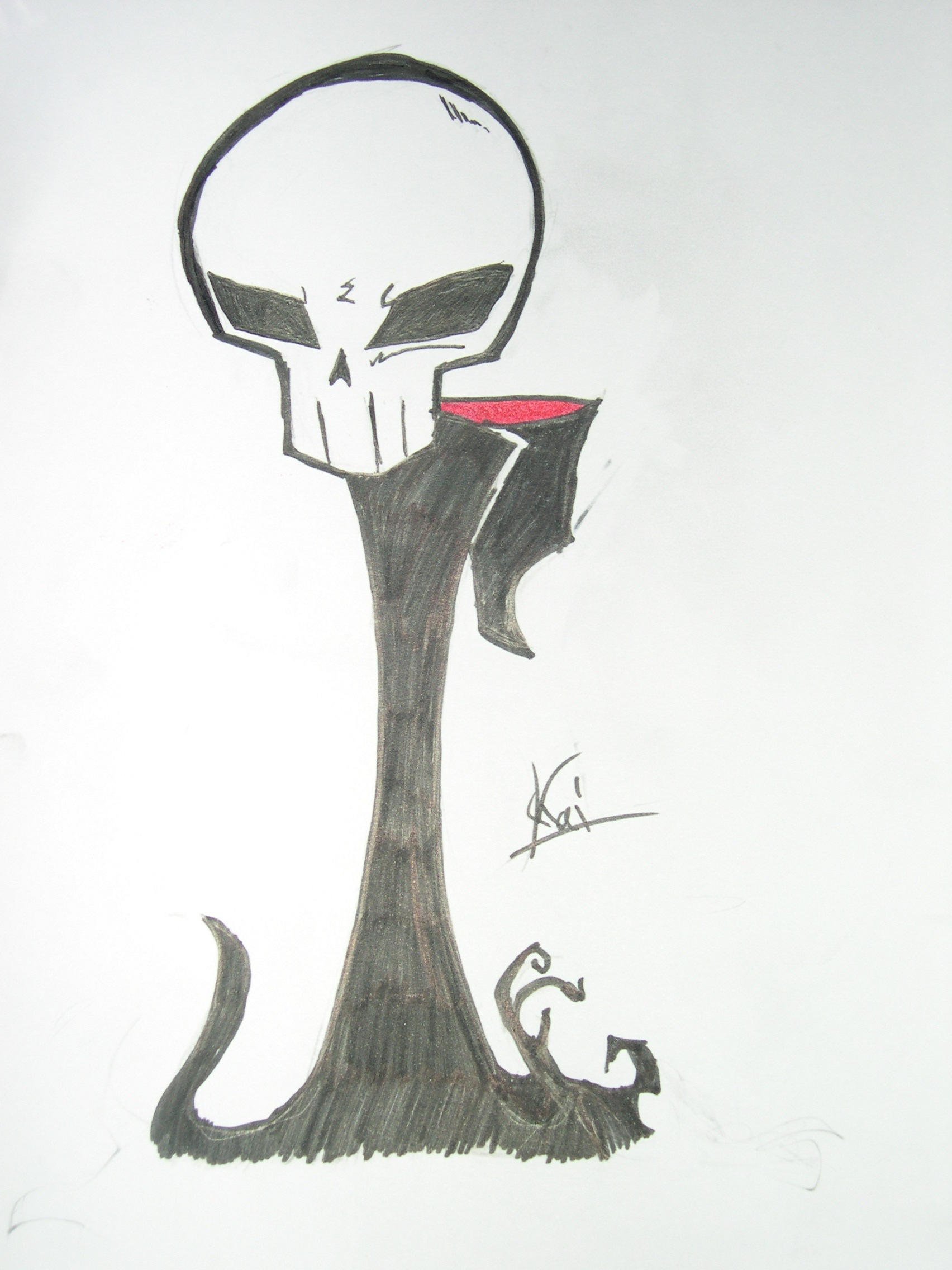 the grim reaper by invader kai