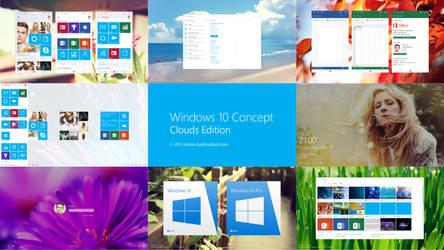 Windows 10 Design concept Promo