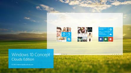 Windows 10 Design concept Main