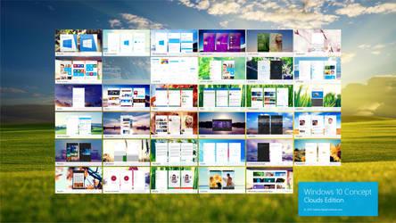 Windows 10 Design concept Contents (Phone)