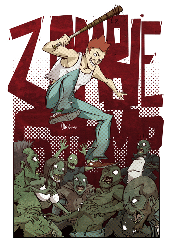 ZOMBIE STOMP by MichaelBills