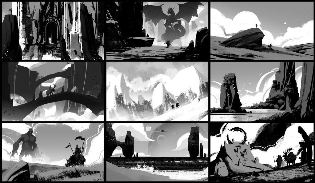 Value Sketches_Jan 2015 by MichaelBills