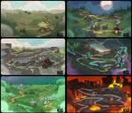 Might and Mayhem Maps